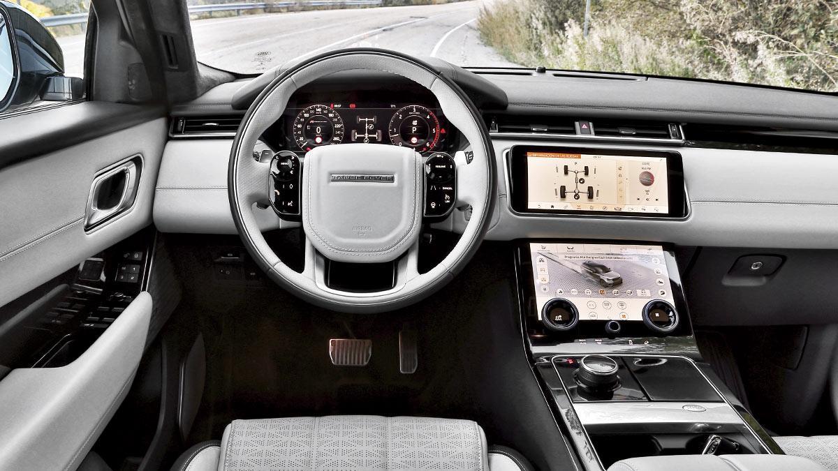 prueba range rover velar d300 dos en uno. Black Bedroom Furniture Sets. Home Design Ideas