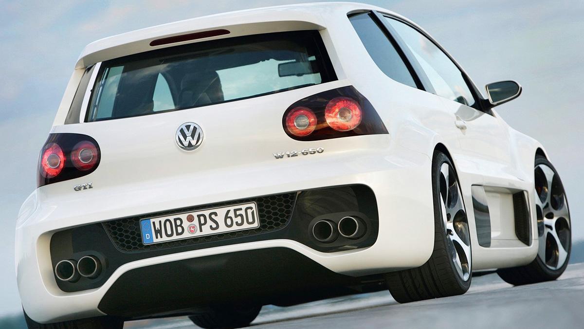 Volkswagen Golf GTI W12-650 Concept