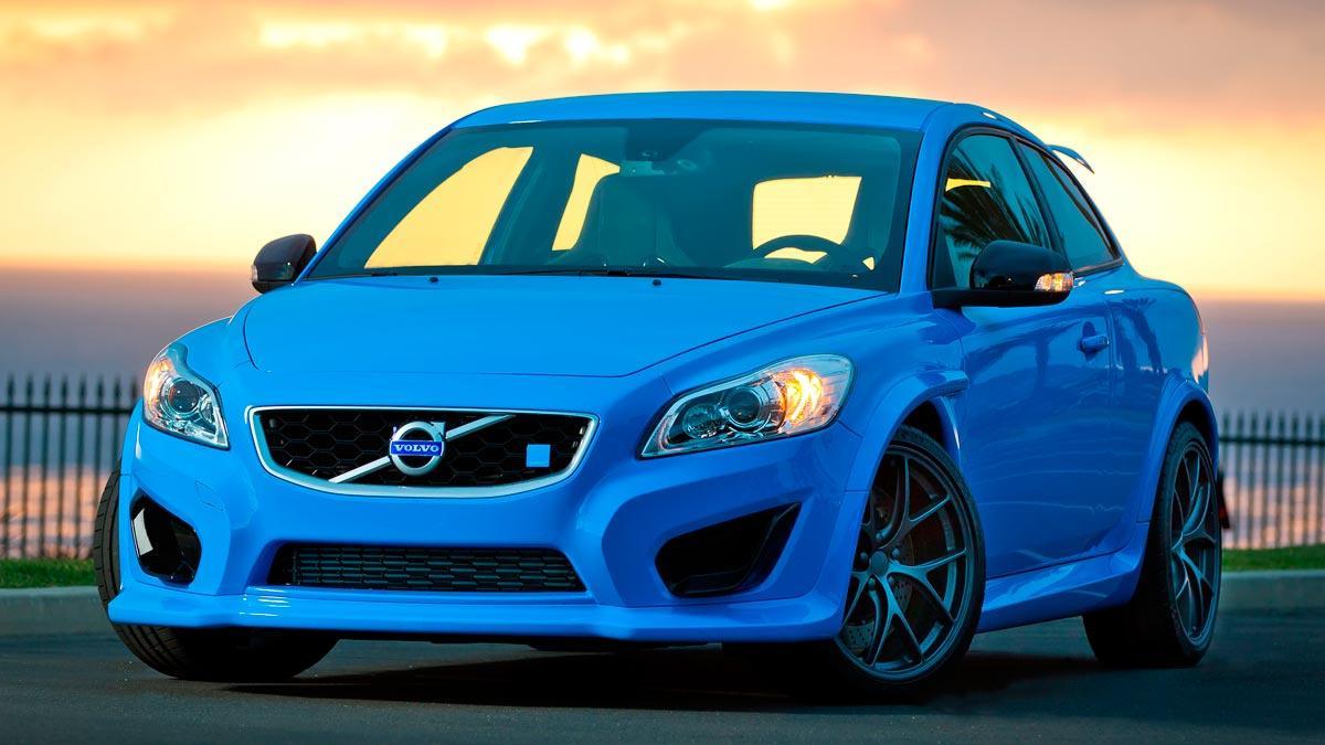 Volvo compacto deportivo lujo prototipo superdeportivo