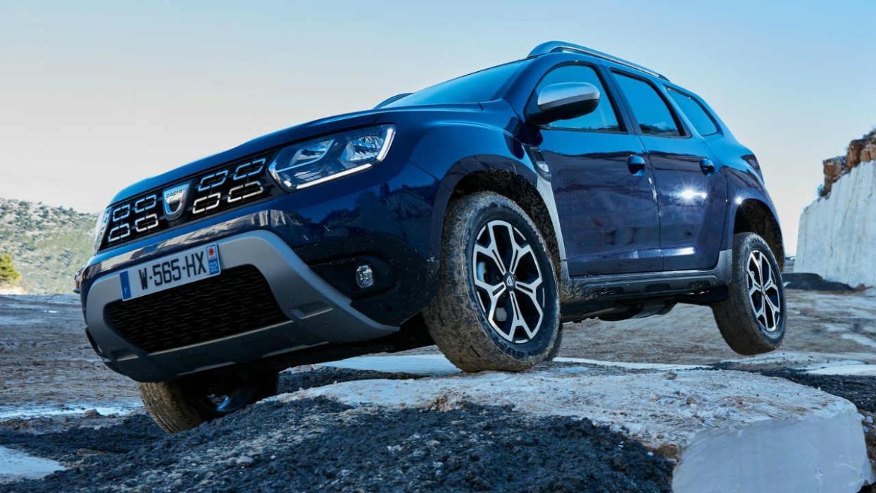 Los 5 mejores coches para conducir en invierno de 2018 Dacia Duster