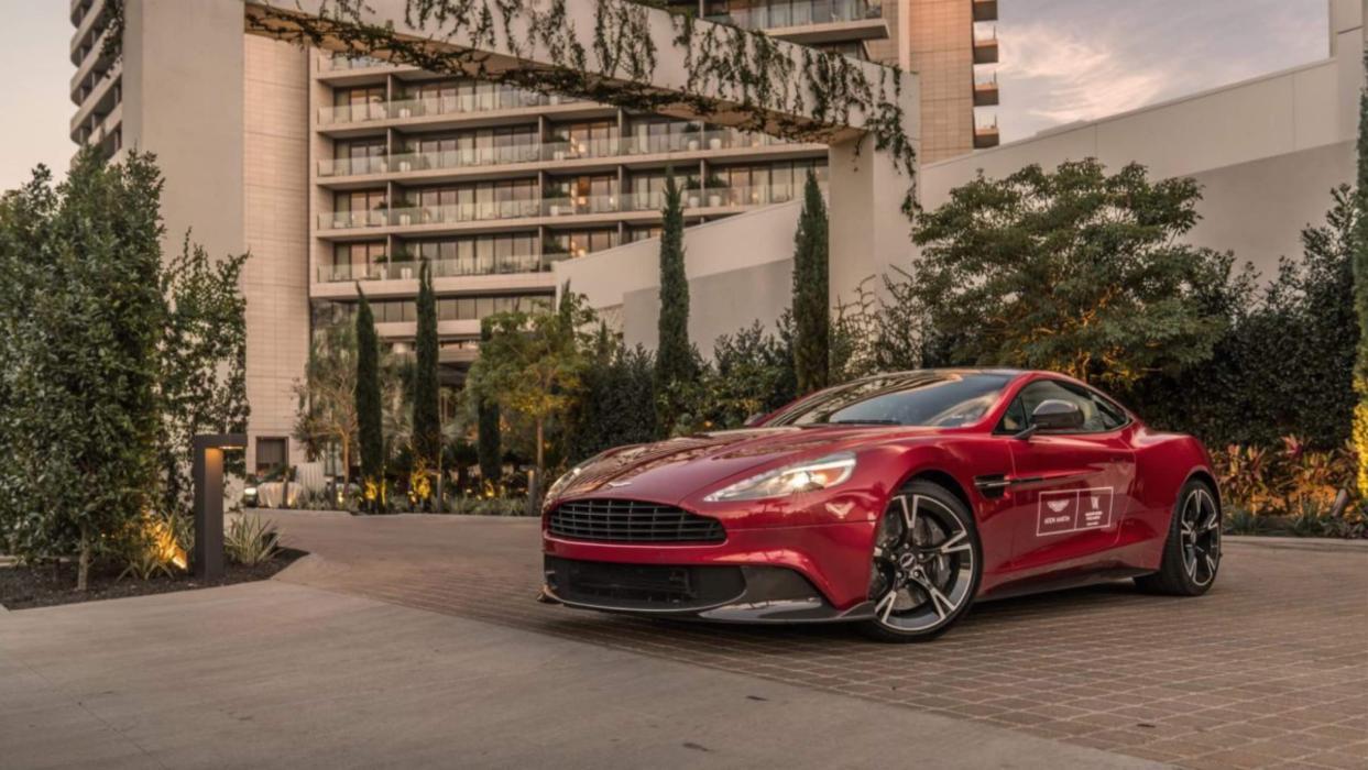 Aston Martin Waldorf Astoria Beverly Hills