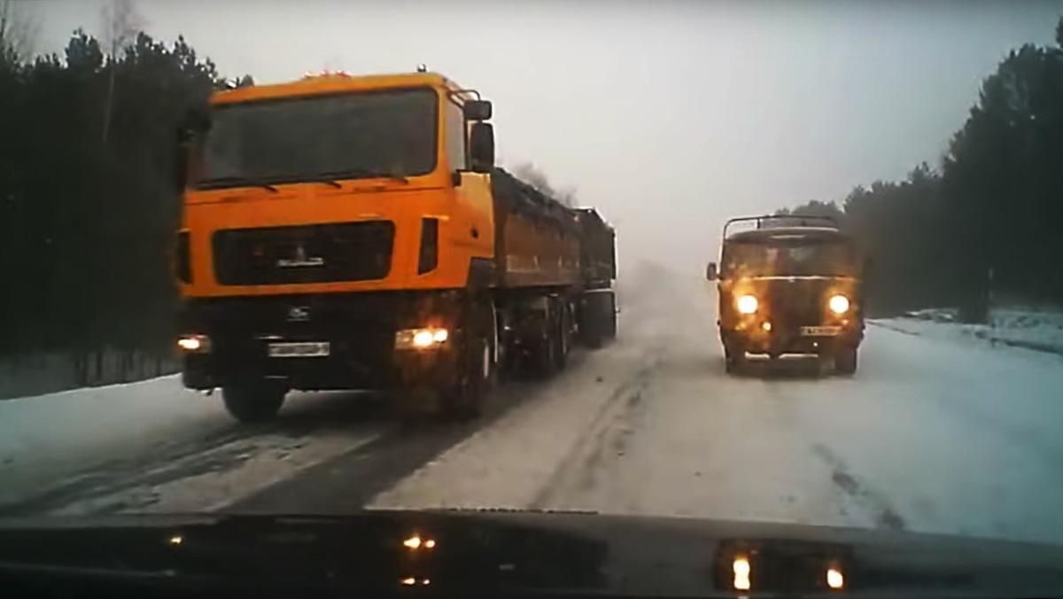 Para conducir sobre nieve... ¡afina tu puntería!