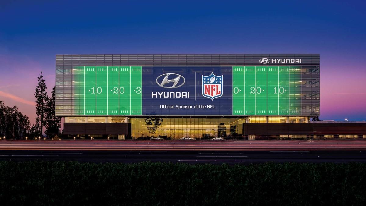 Hyundai Going Pro - Sponsor NFL