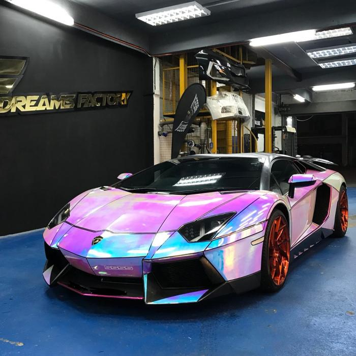 Dreams Factory Automotive Lamborghini Aventador