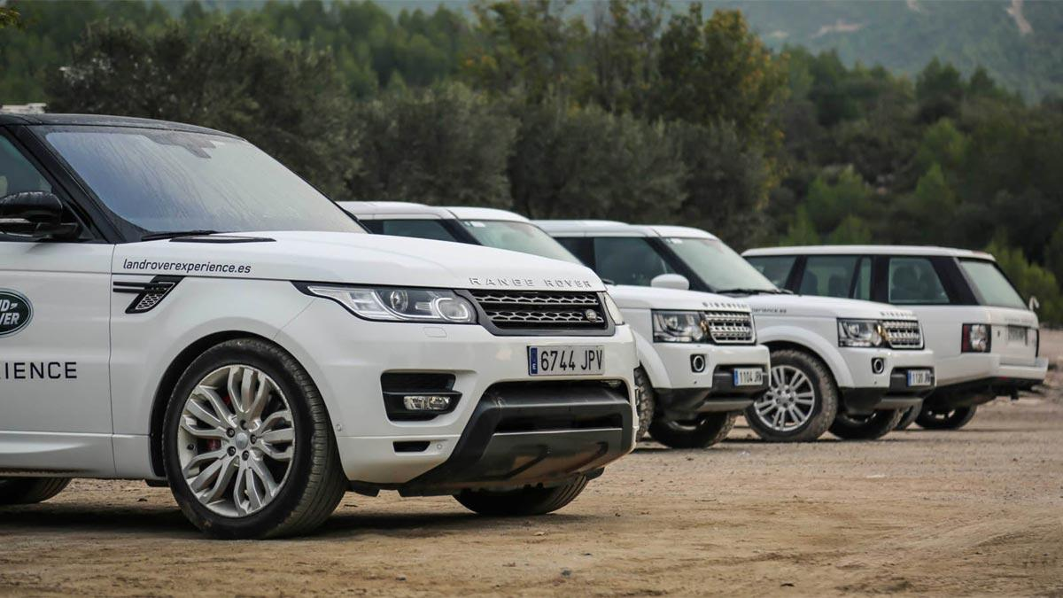 range rover sport discovery off-road