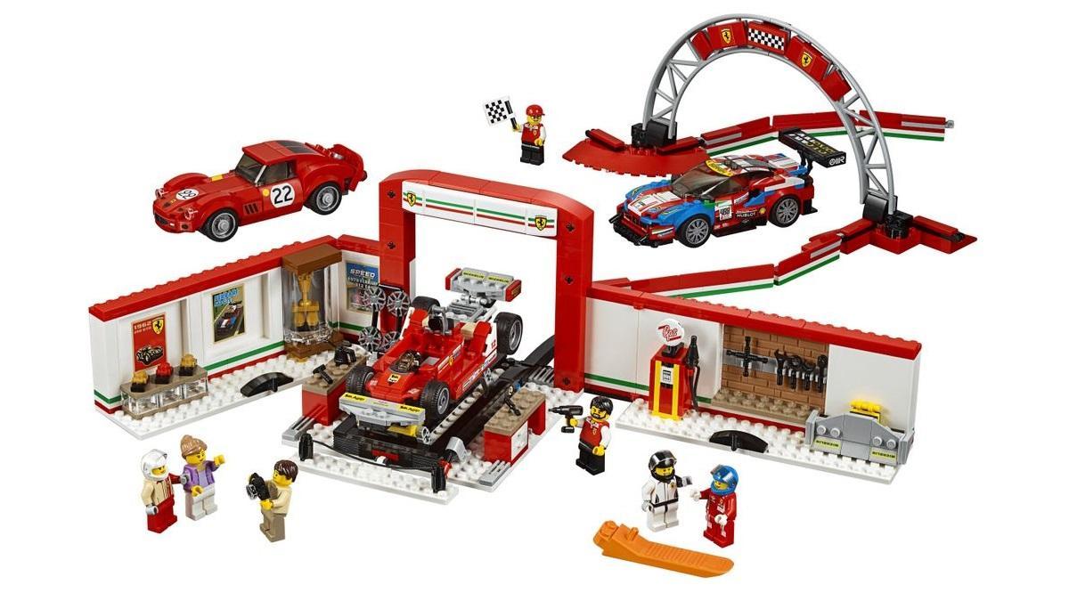 Ferrari .Lego Speed Champions