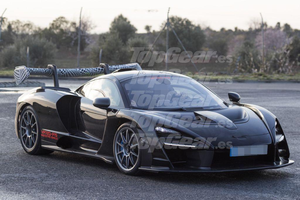 McLaren Senna lateral