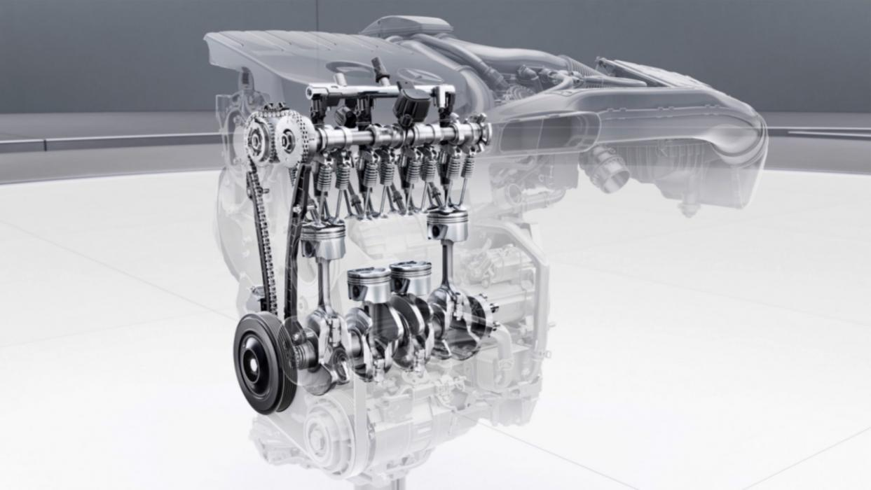 Motor Mercedes M282