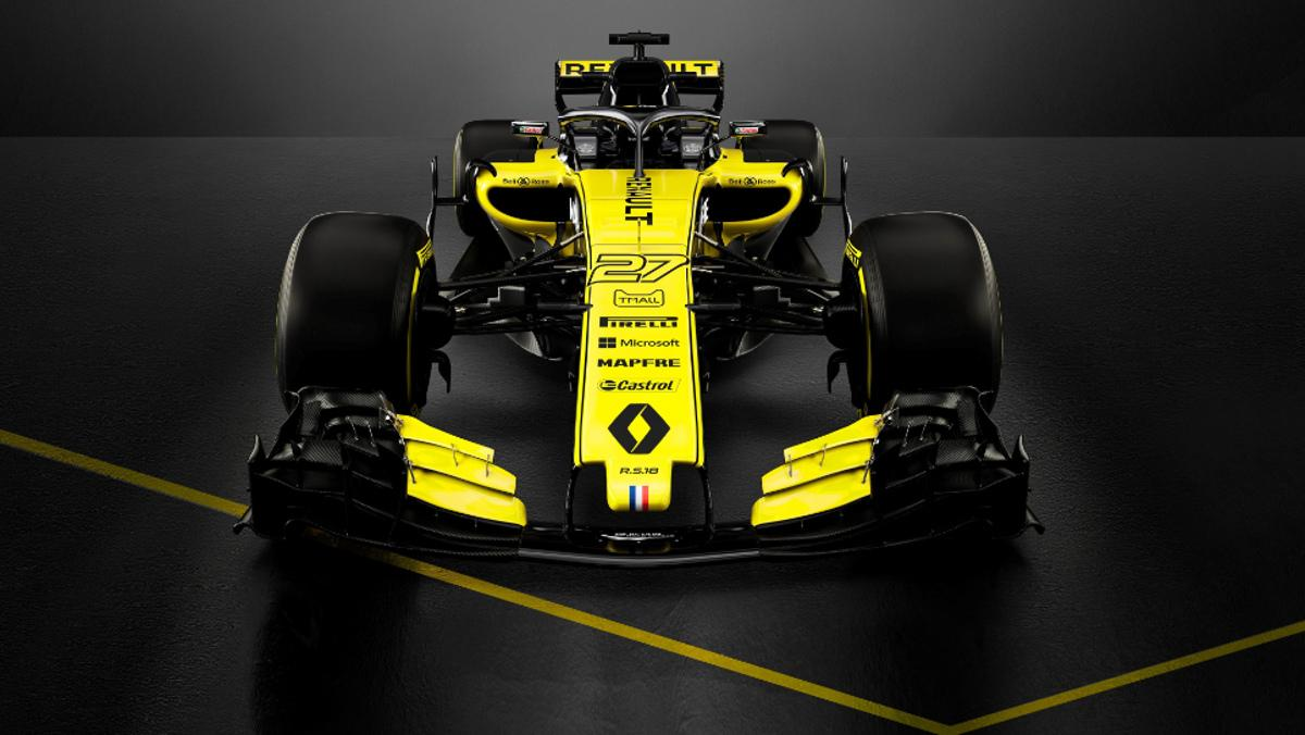 Renault RS18 frontal