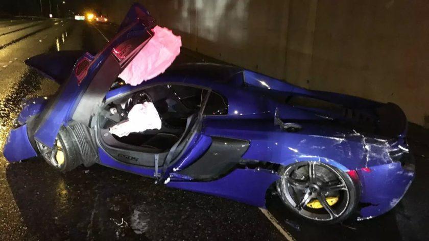 Accidente McLaren 650S Spider
