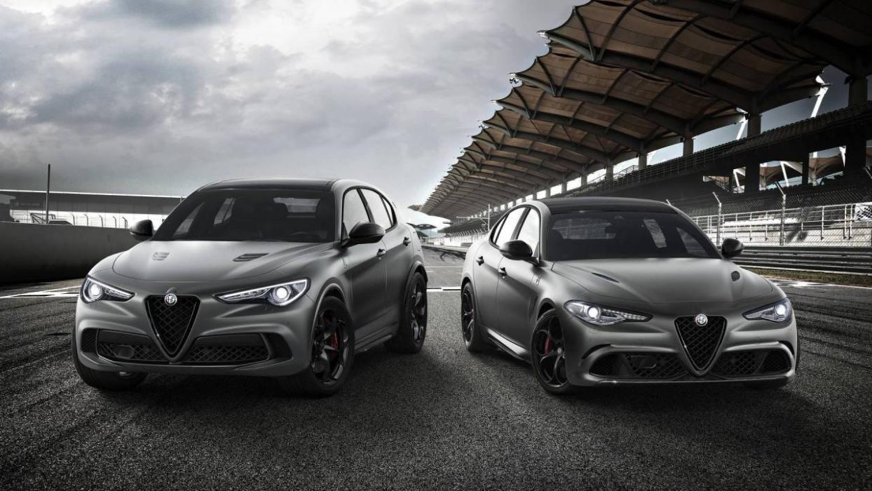 Alfa Romeo Giulia QV y Stelvio QV Nürburgring Edition
