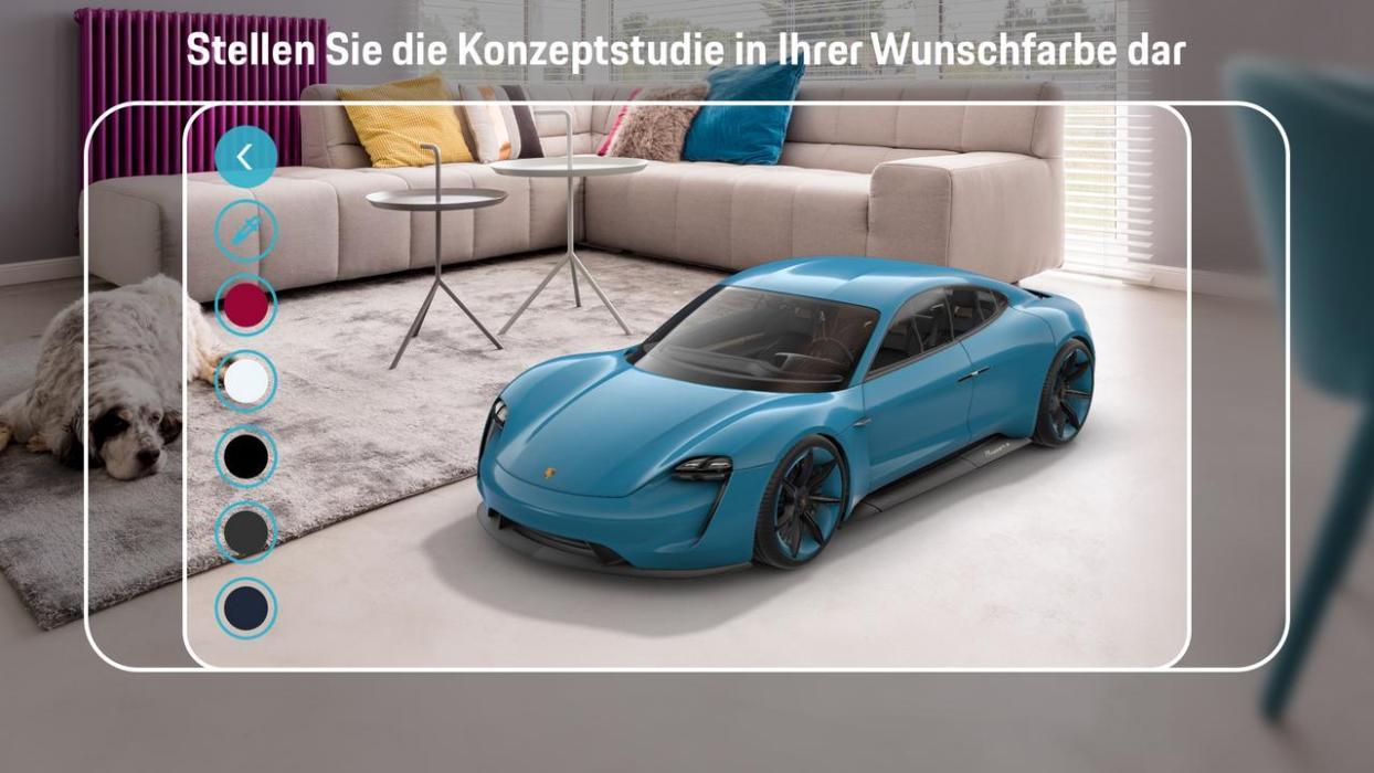 App Porsche Mission E