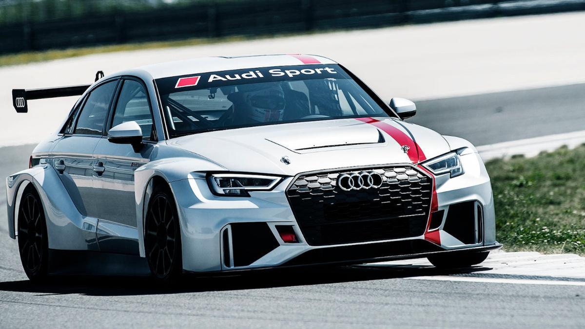 Audi RS 3 LMS WTCR