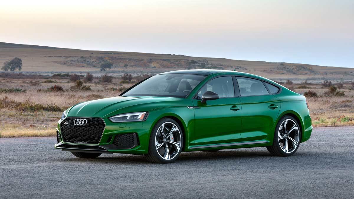 sedan deportivo lujo salon nueva york verde