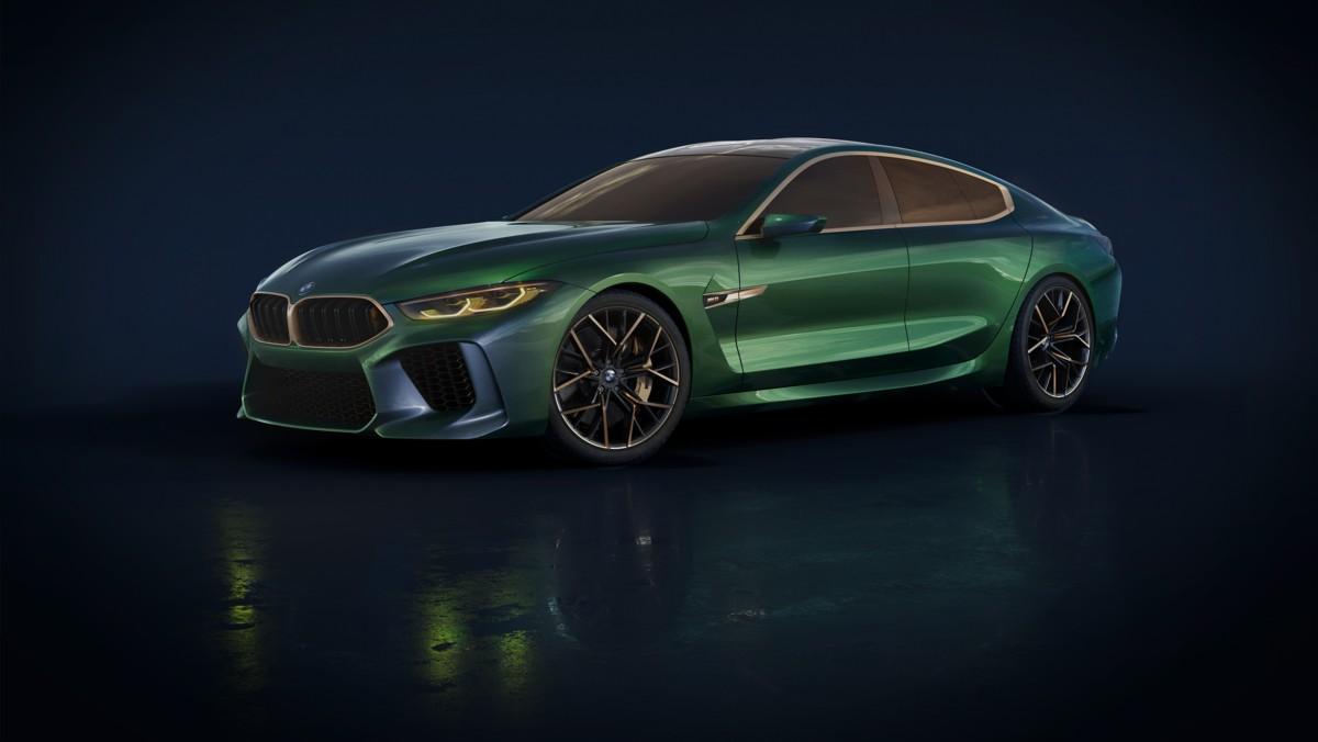 BMW Serie 8 Gran Coupé Concept