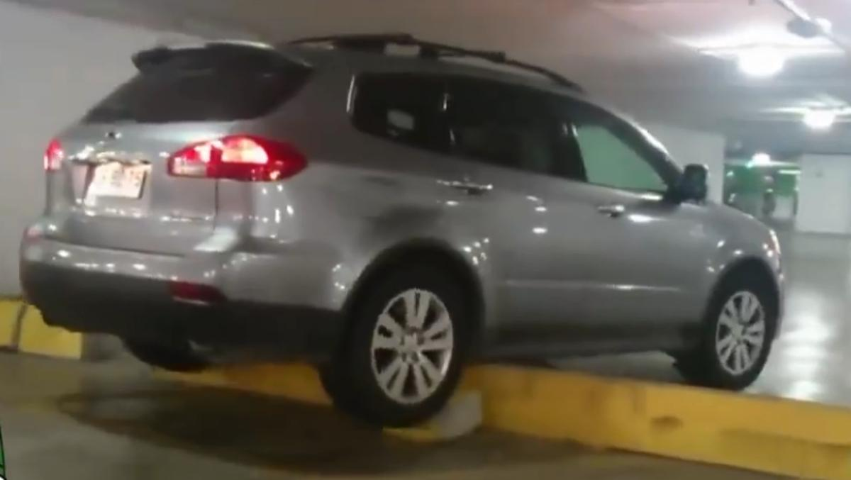 Cagadas aparcando; pues eso