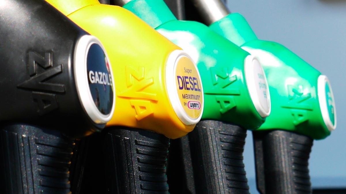 prohibir surtidor manguera carburante gasolinera