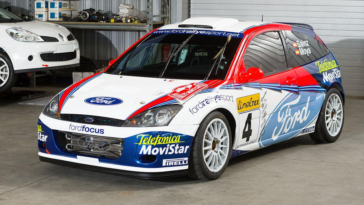 Ford Focus WRC 2002 de Carlos Sainz