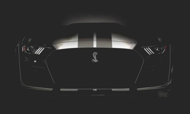 Ford Mustang Shelby GT500 de 2020