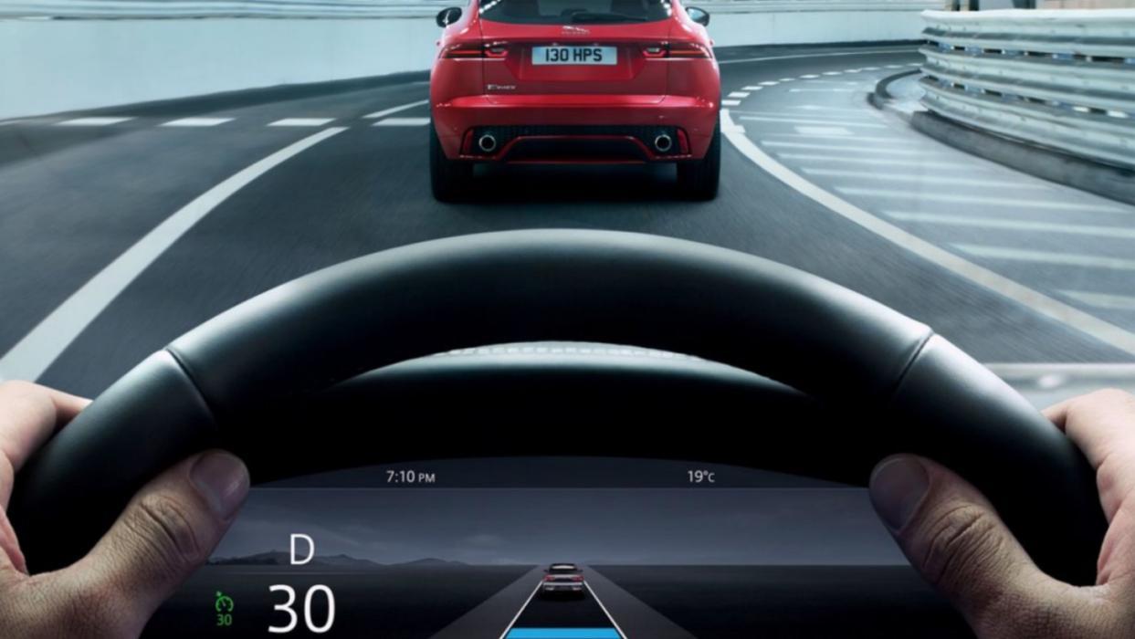Jaguar I-Pace 2019 (pantalla)