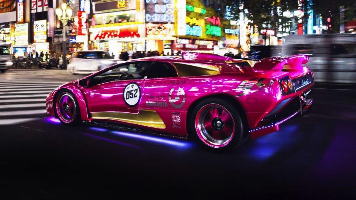 Lamborghini Diablo tuning