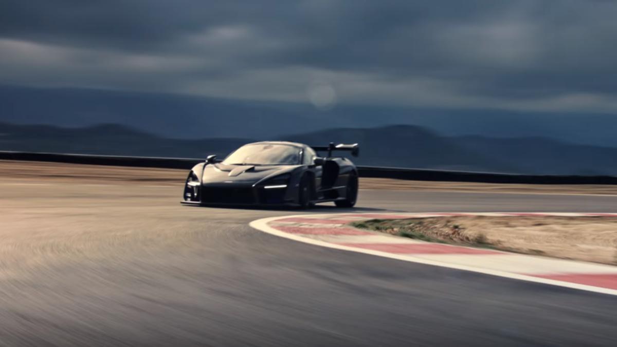McLaren Senna dándolo todo