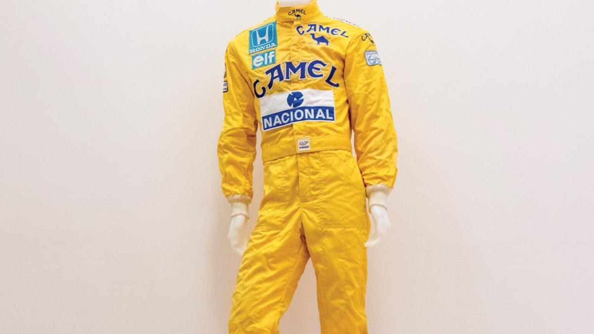 Mono Senna Mónaco 1987