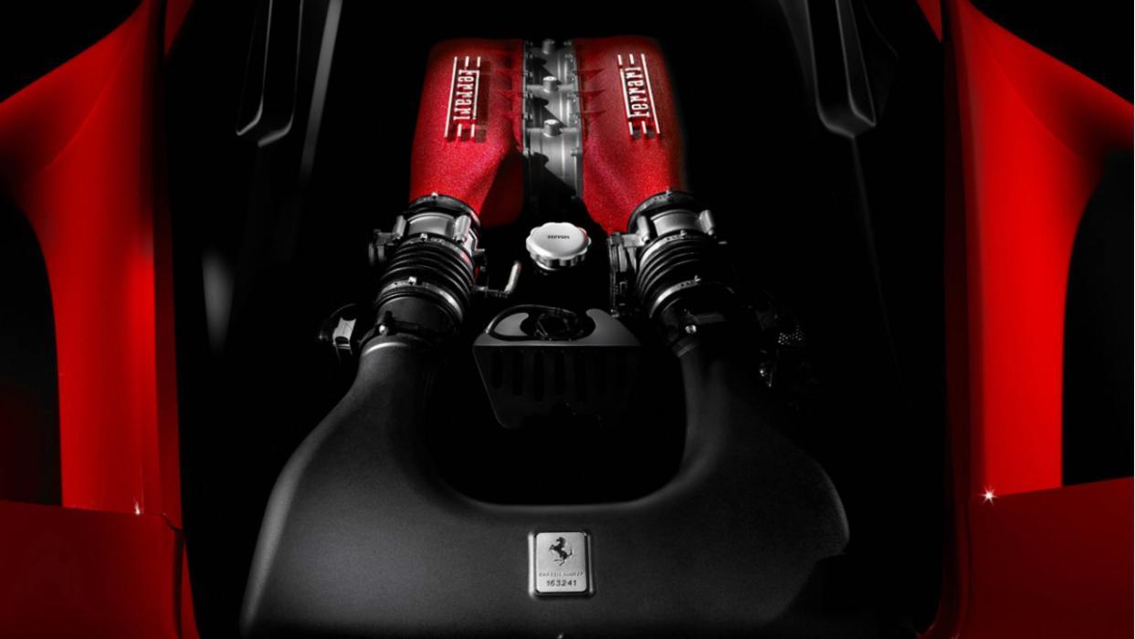 Motor Ferrari 458 Italia