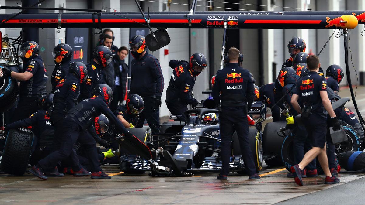 Aquí Red Bull F1