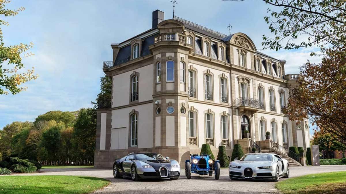Molsheim palacio lujo chiron veyron type 35 clasicos