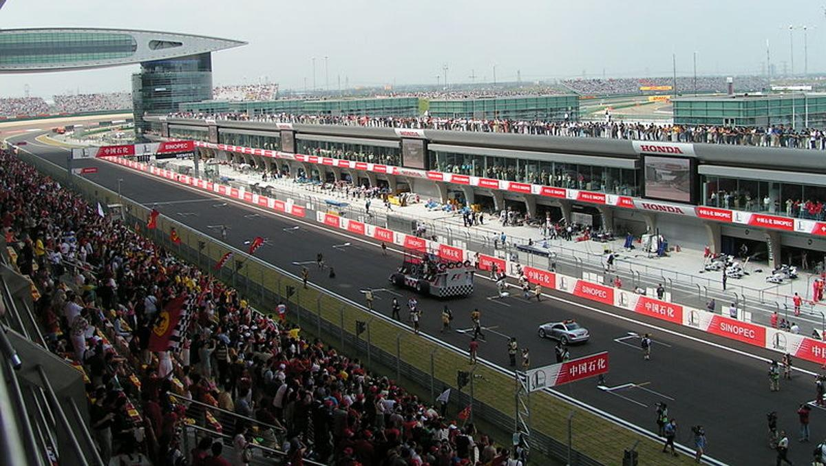 Resultat d'imatges de F1  GP China 2018