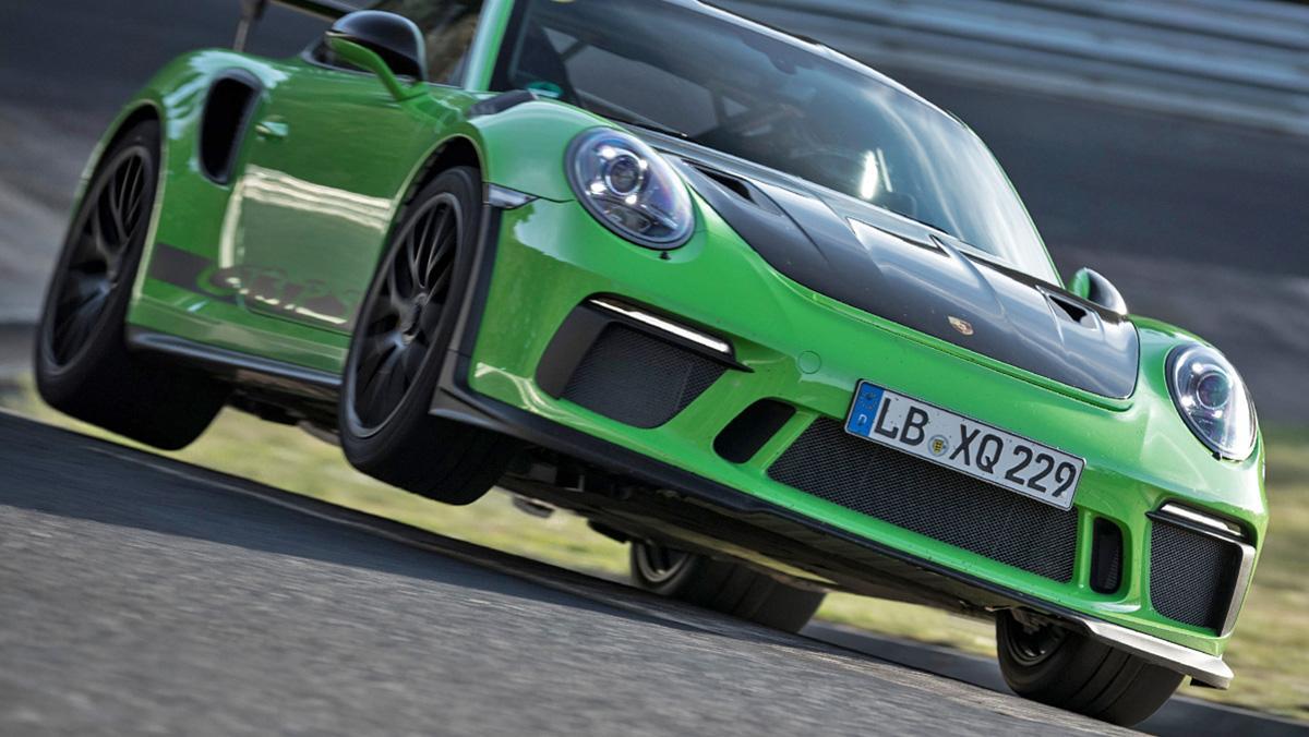 El 911 GT3 RS que batió el récord de Nürburgring