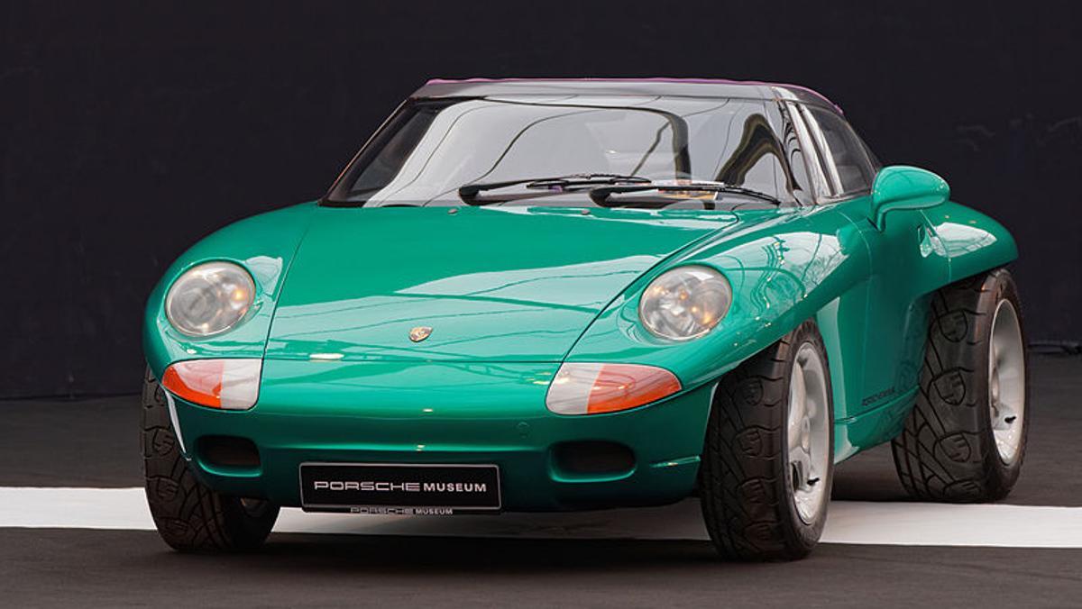 Frontal Porsche Panamericana