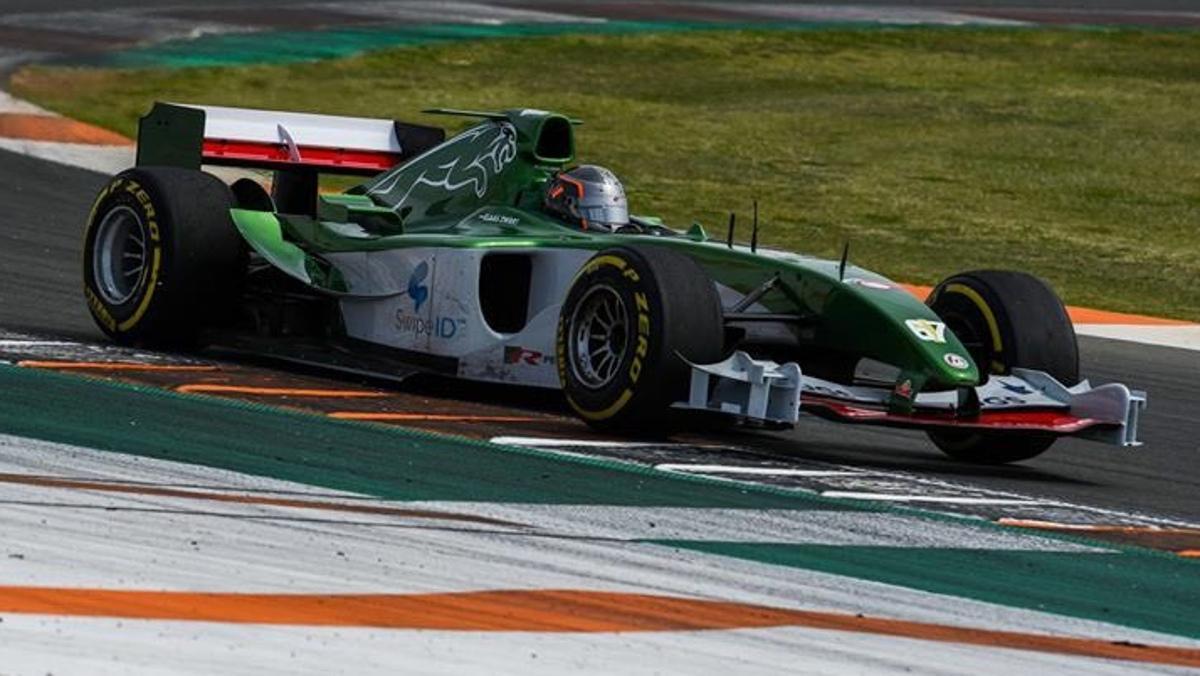 Jaguar F1 Cheste Récord fracasado