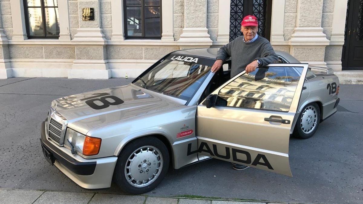 Mercedes 190E 2.3-16 v de Niki Lauda