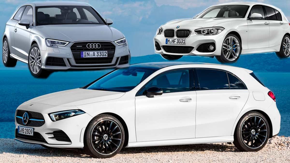 Audi A3 BMW Serie 1 compacto premium lujo alemania