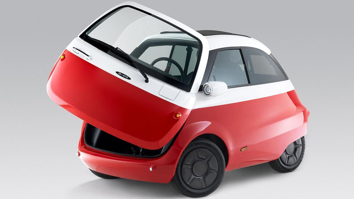 Microlino, el eléctrico inspirado en el Isetta