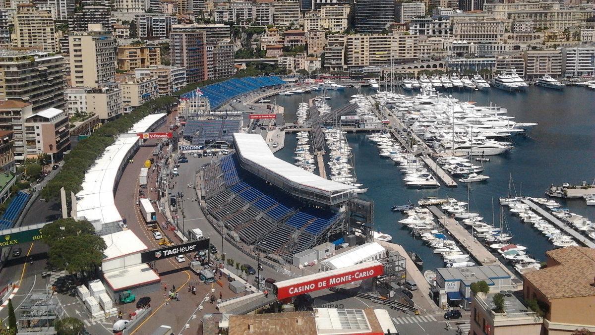 Mónaco F1 2018 pit babes