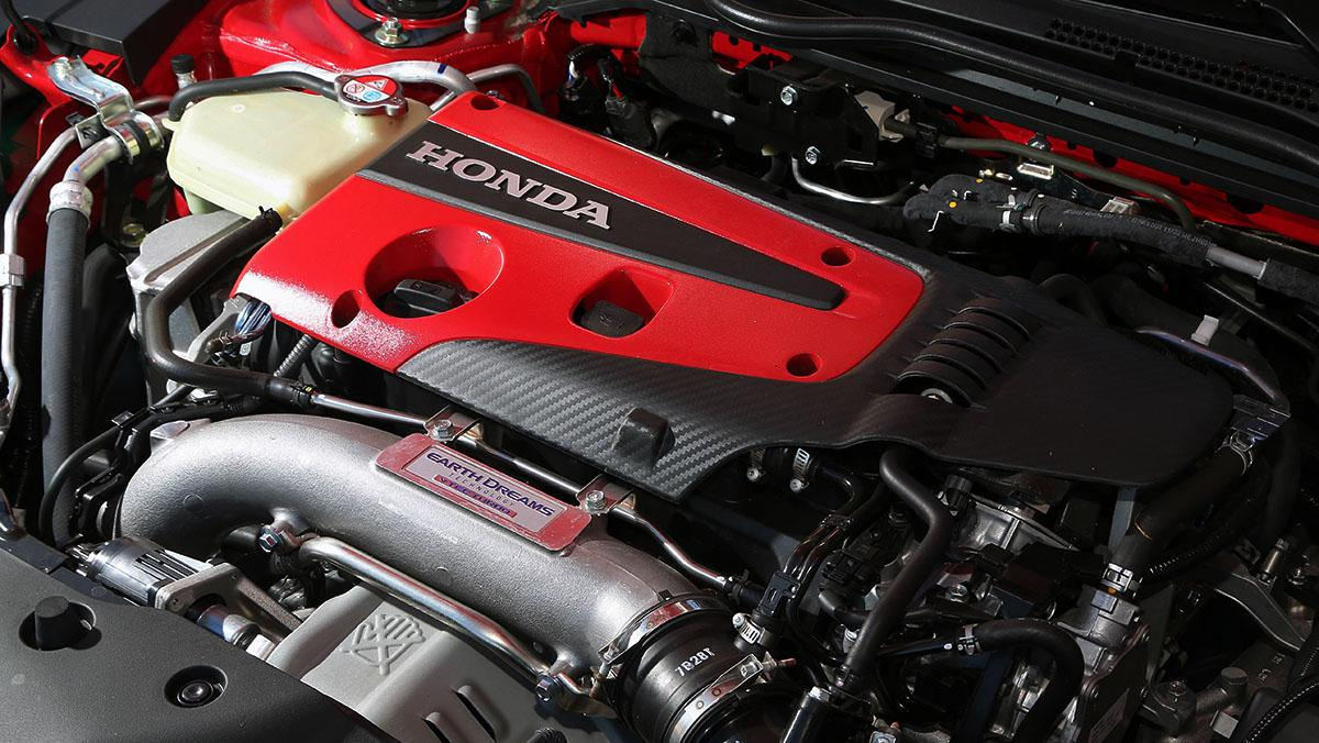Motor Honda Civic Type R 2017