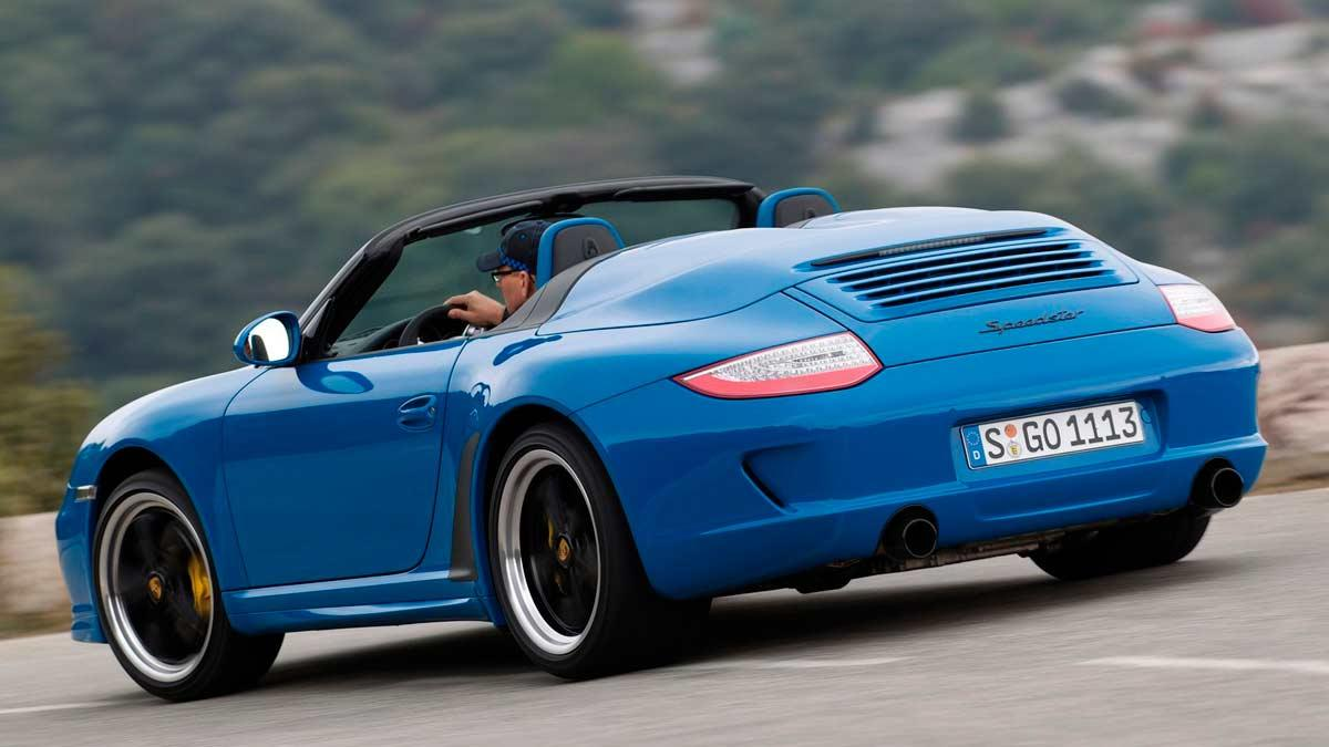 997 descapotable lujo deportivo azul limitado exclusivo