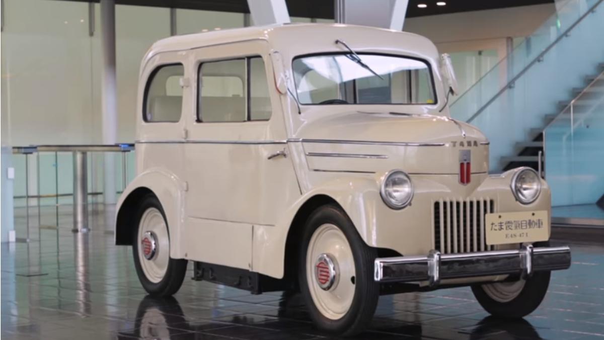 Prince Tama, el primer Nissan eléctrico de 1947