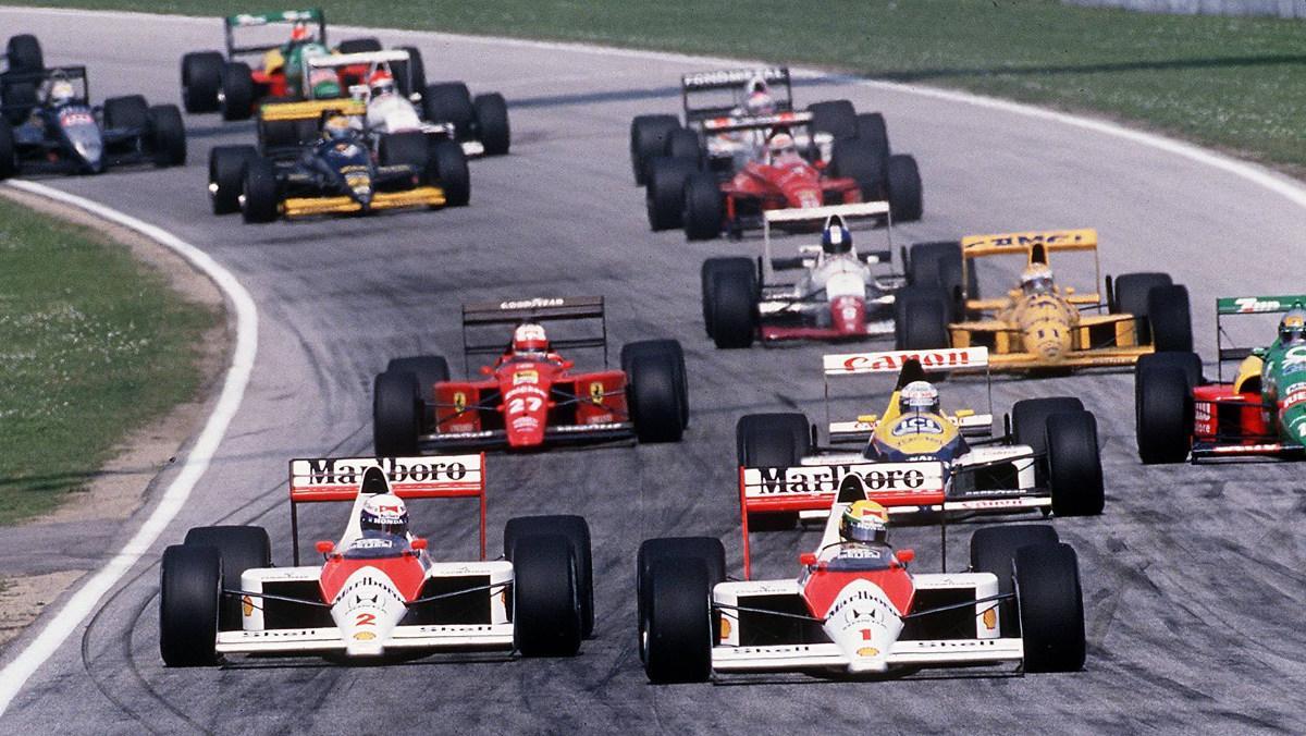 Qué cosas echamos de menos F1 antigua