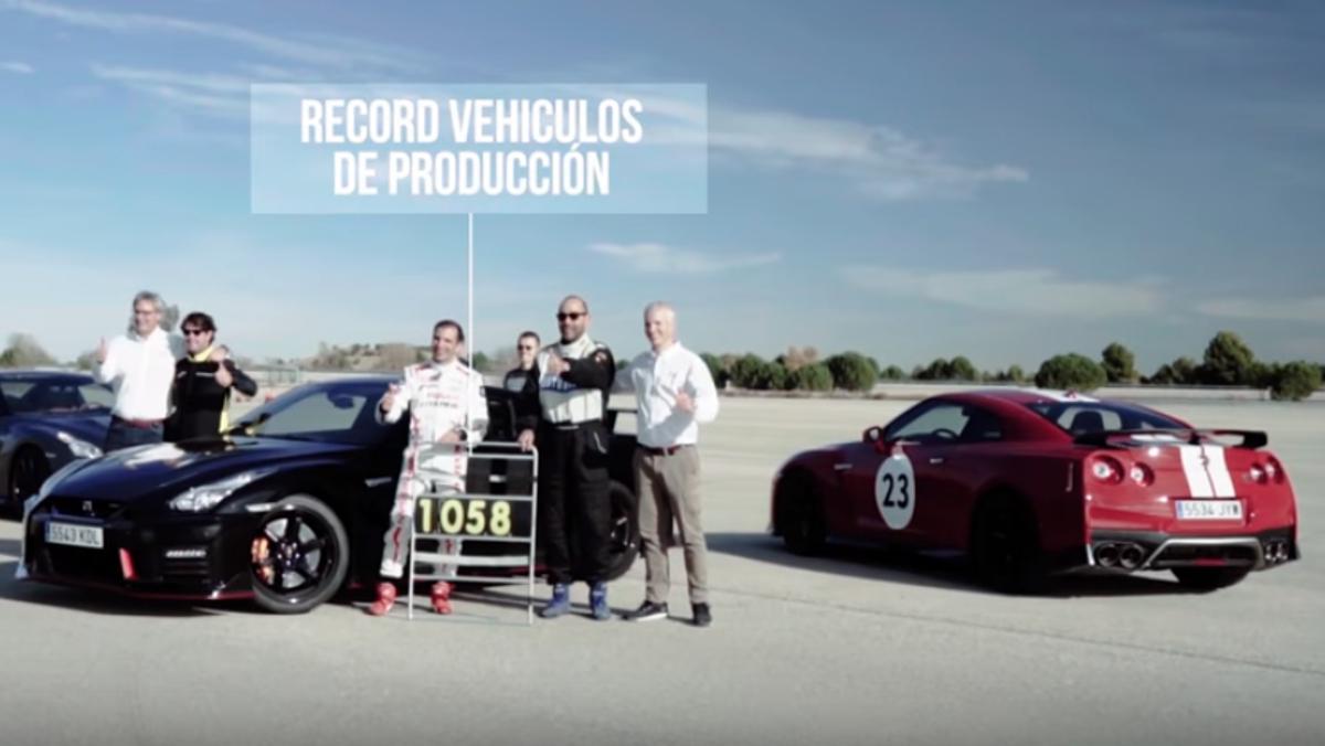 Récord Nissan y Marc Gené