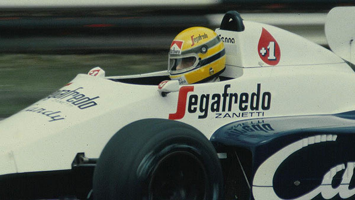 Senna y un muro que se movió en Dallas 1984