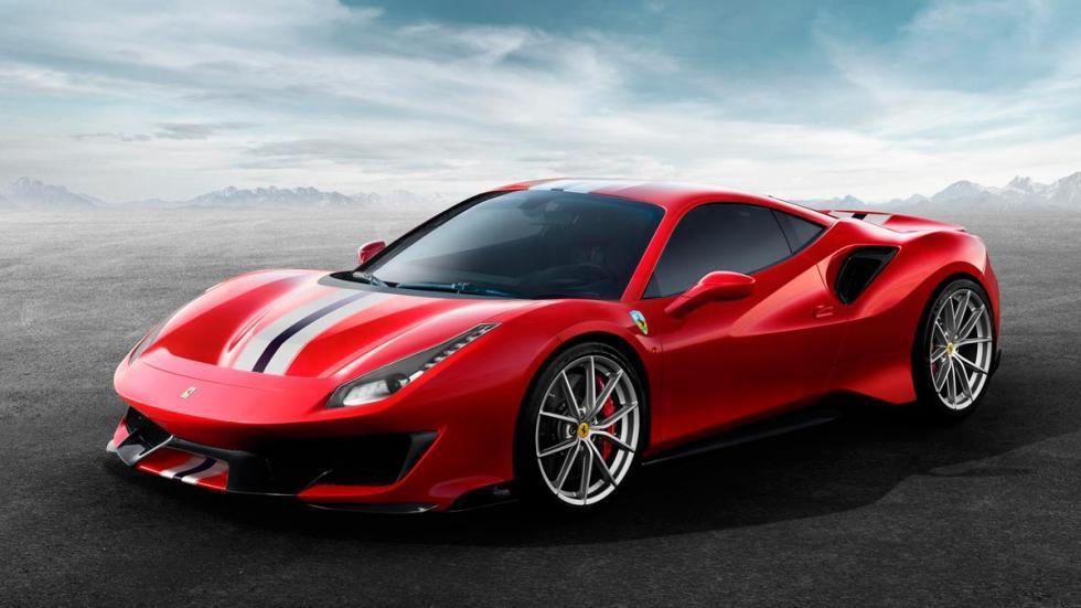 Rivales del Ferrari 488 Pista