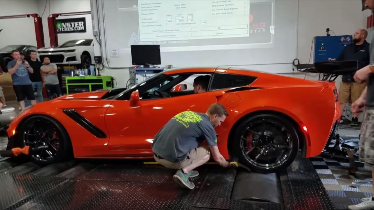 banco potencia Chevrolet Corvette ZR1