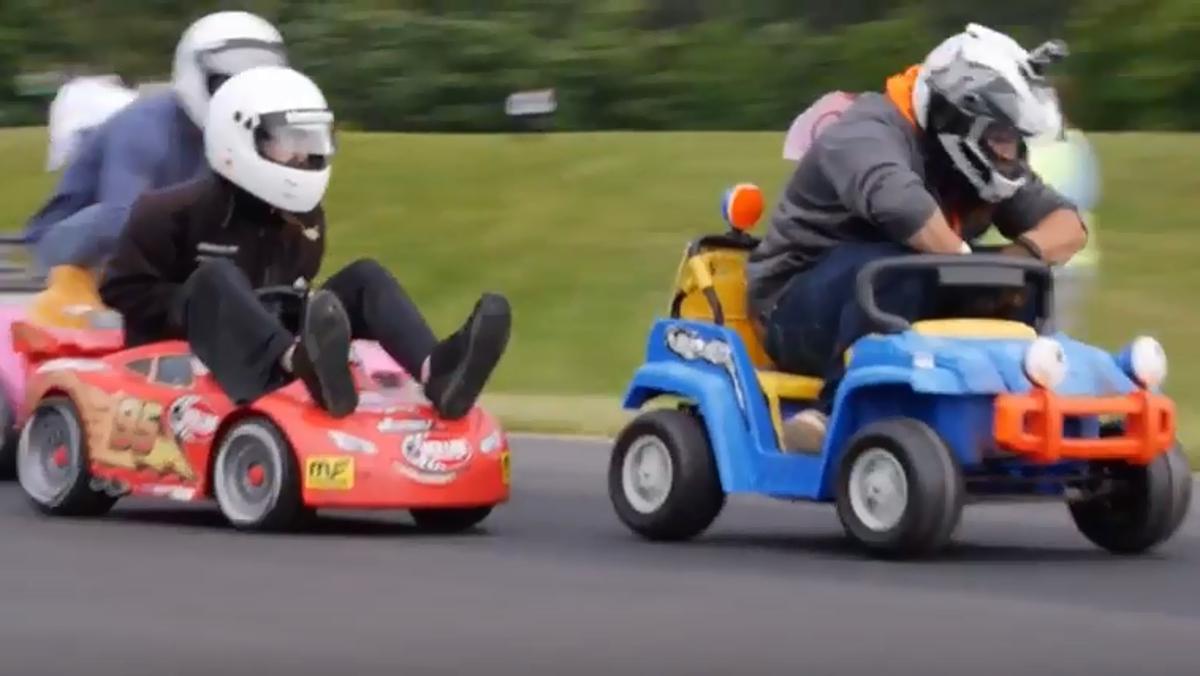 Carreras de coches infantiles