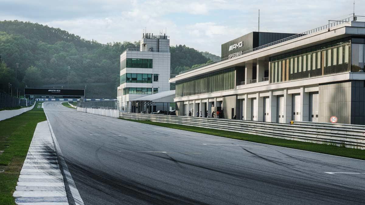 trazado AMG Speedway lujo