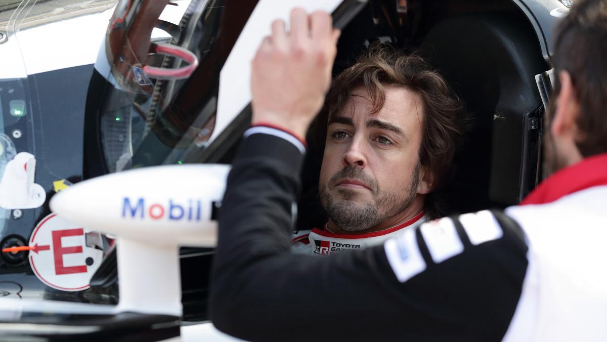 Fernando Alonso WEC Toyota