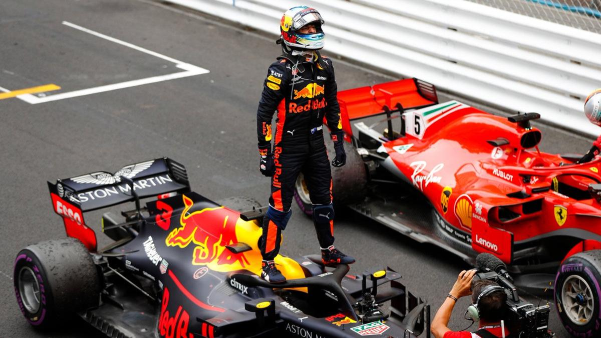 GP Mónaco F1 2018, Ricciardo se lleva el triunfo